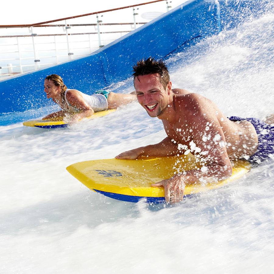 Simulatorul de Surf Flowrider