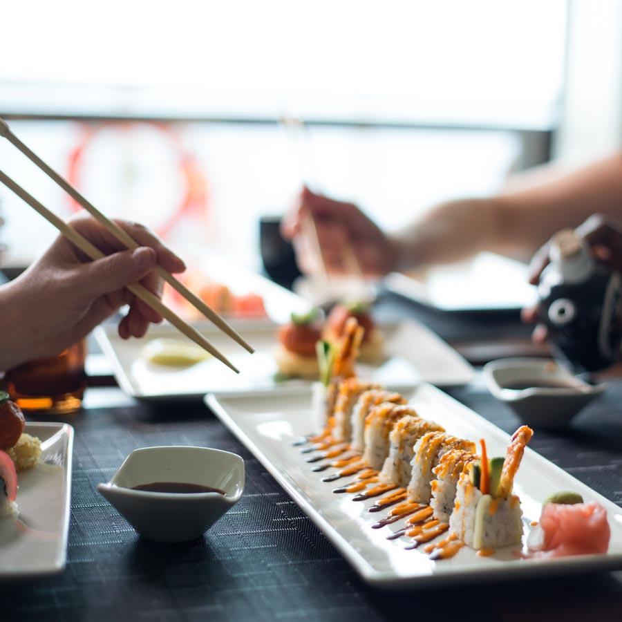 Restaurantul Sushi on Five
