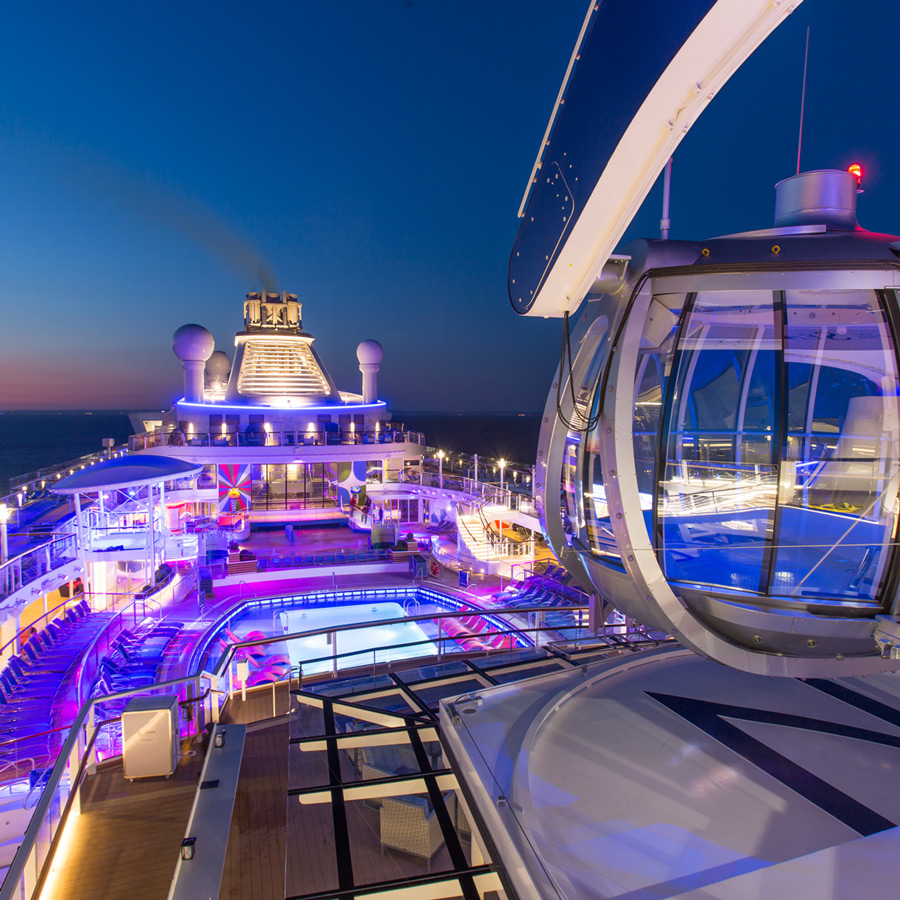 Quantum of the Seas revine pe mare