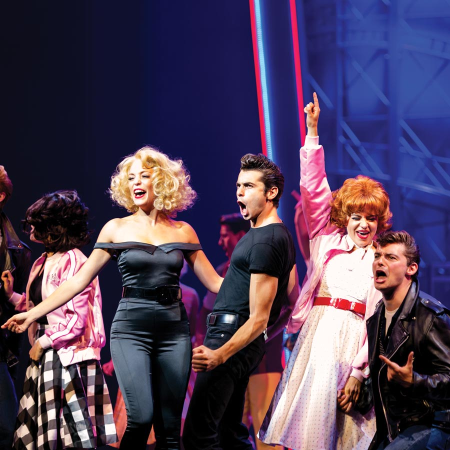 Spectacolul Grease