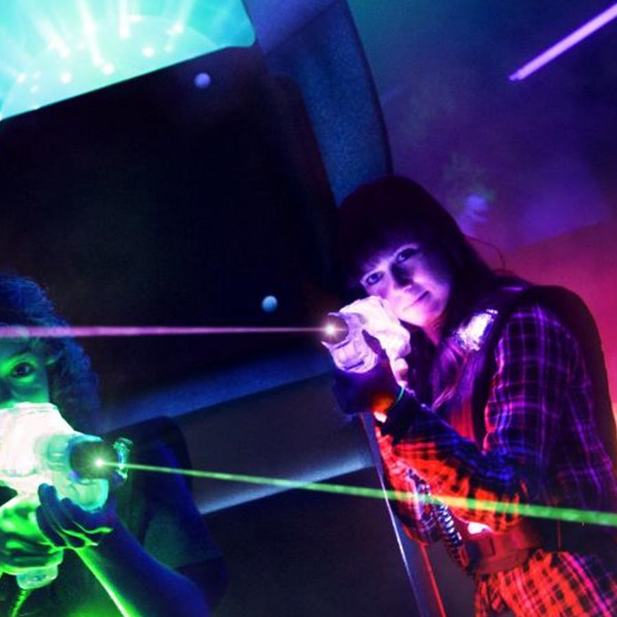 Laser tag: Confruntarea pentru Crystal City
